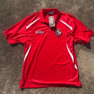 Lotto Shirts - Lotto Panama National Team Authentic Jersey NWT